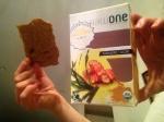 Flax Crackers Tumeric-Nori