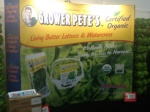 Display of Grower Pete's at Expo West in Anaheim 3/9/2014
