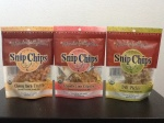 Snip Chips- Parsnip-Coconut Snack Mix Flavors: Dill Pickle, Chipotle Cilantro and Cheezy  Herb Truffle