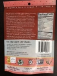 Back of package  Snip Chips - Chipotle Lime Cilantro Flavor