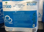 Back of package - Nimbus Eco 4 Pack of 100% Bamboo Bathroom Tissue