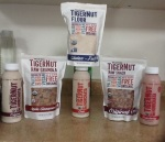 Tiger Nut Products: Tiger Nut Tiger Nut Flour Tiger Nut Raw Granola Horchata in flavors - Original, Strawberry and Chai